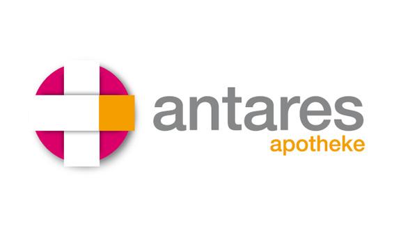 Logo der Antares Apotheke - ein Kooperationspartner von Vitanova