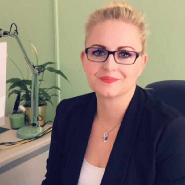 Sabrina Koldevitz, Pflegedienstleiterin von Vitanova Hamburg